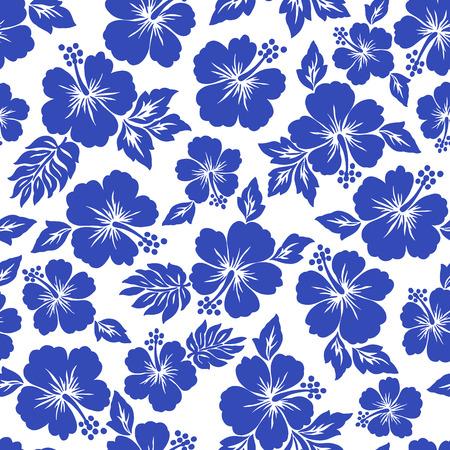 Motif de fleur d'hibiscus Banque d'images - 42516073