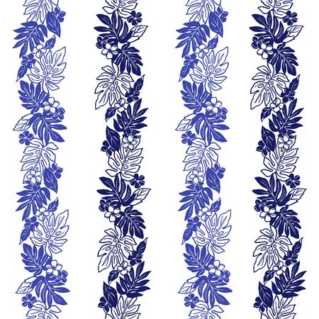 resplendent: Hibiscus flower pattern
