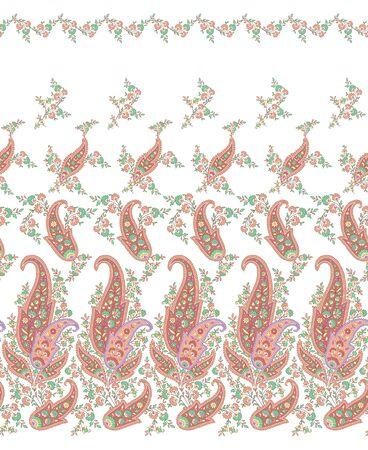 disegni cachemire: modello di ornamento Vettoriali