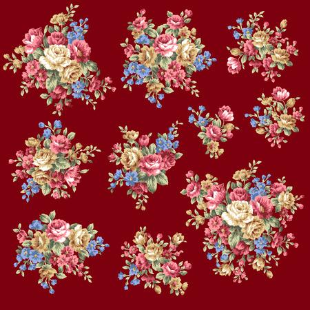 flower bouquet: Rose flower bouquet,