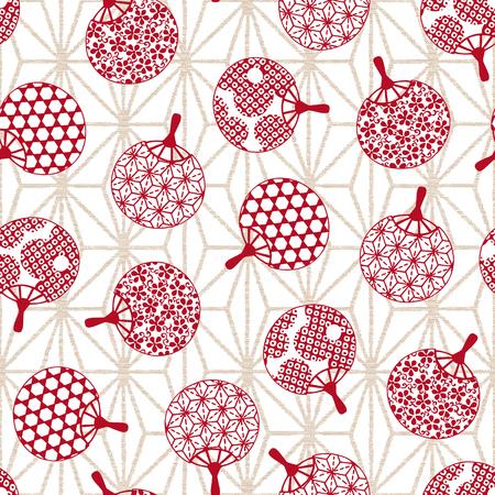 miscellaneous goods: Japanese Fan pattern