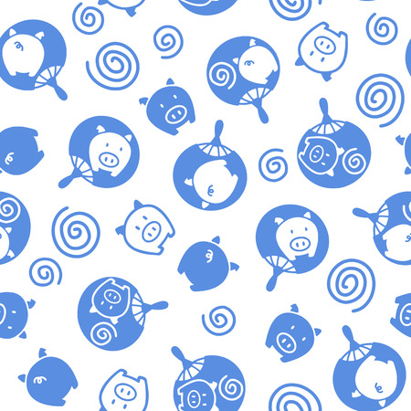 midsummer: Japanese Fan pattern