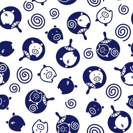 prickly pear: Japanese Fan pattern