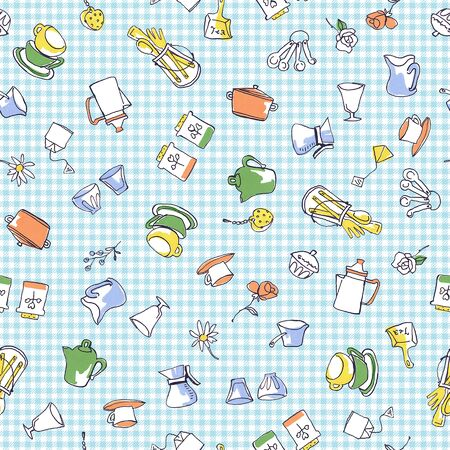 miscellaneous goods: Illustration of the tea time