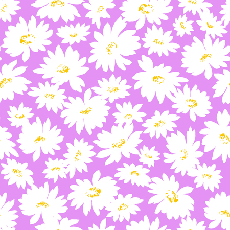 Flower illustration pattern 版權商用圖片 - 43318395