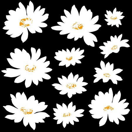 corsage: Flower illustration   Illustration