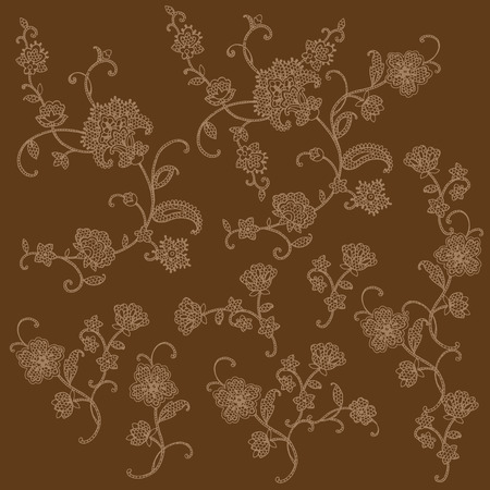 paper arts and crafts: Illustration of the lace
