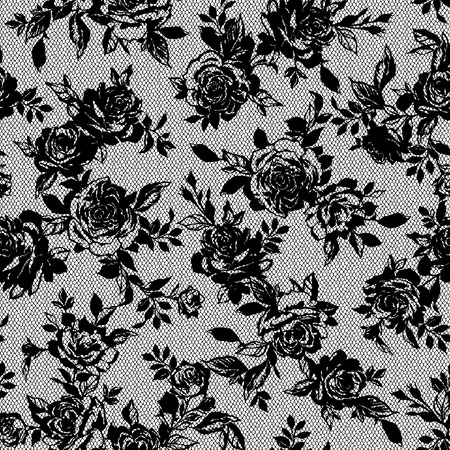 Rose flower pattern, Çizim