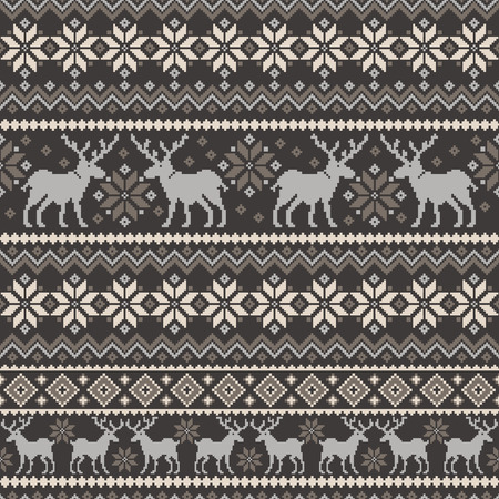 Nordic tradition pattern Ilustrace