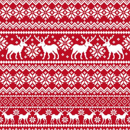 Nordic tradition pattern  イラスト・ベクター素材
