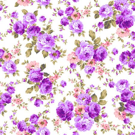 Rose bloem patroon, Stockfoto - 45038549