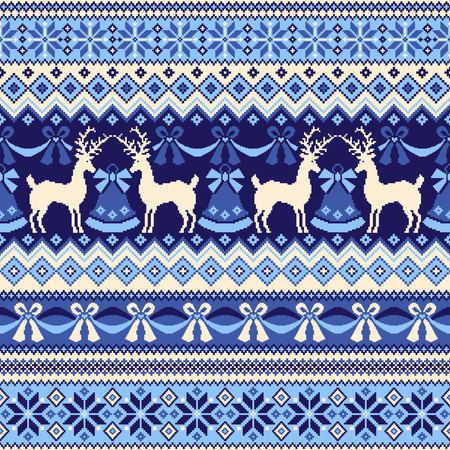miscellaneous goods: Nordic tradition pattern Illustration