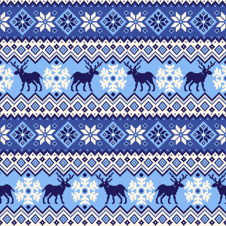 Nordic tradition pattern Illustration