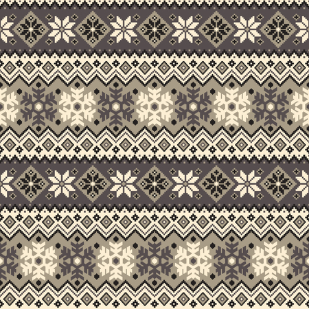 tradition: Nordic tradition pattern Illustration