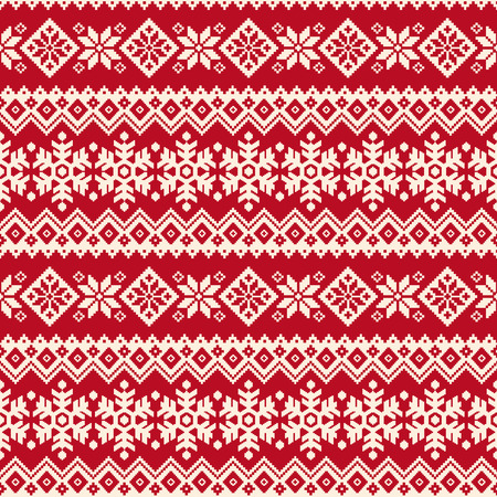 Nordic tradition pattern Ilustrace