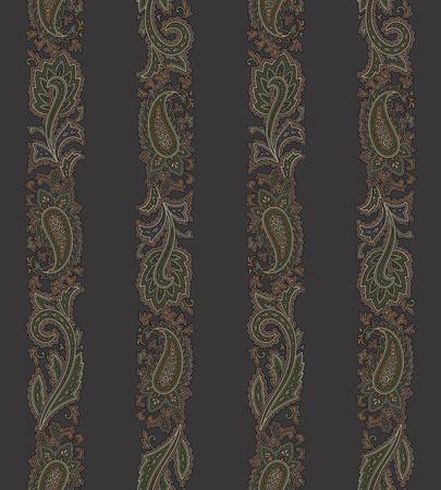 line work: Paisley pattern