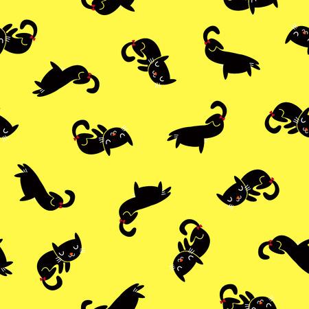 whim: Pretty cat pattern