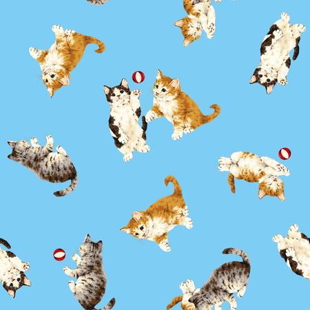 Pretty cat pattern