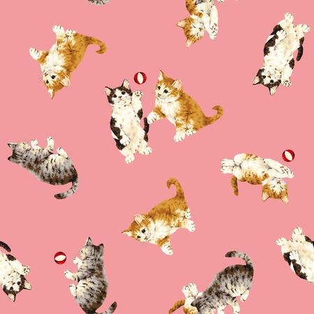 kotów: Dość kota wzór Zdjęcie Seryjne