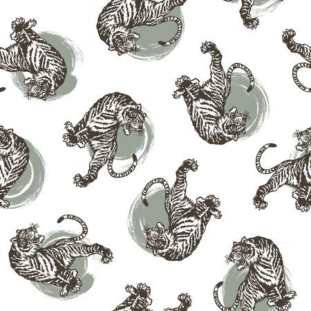 berserk: Japanese tiger pattern