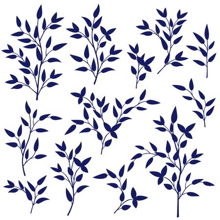 simplification: Leaf illustration