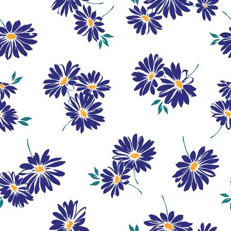 repeated: Margaret flower pattern