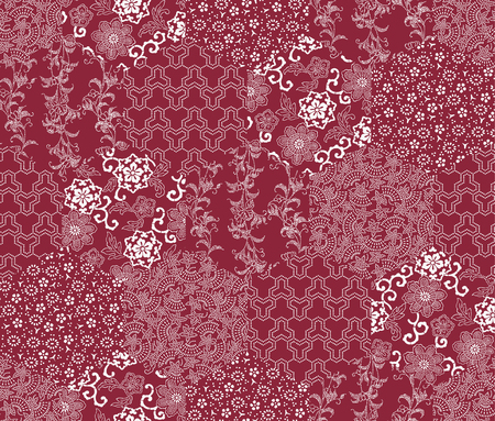 japanese style: Japanese style pattern patchwork