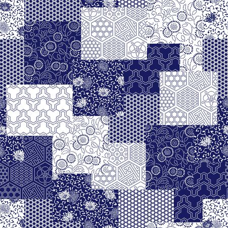 clothes interesting: Japanese style pattern patchwork