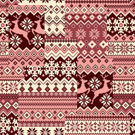 tradition: Nordic tradition pattern Illustration
