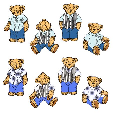 lovely bear Vectores