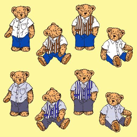 amiability: lovely bear Illustration