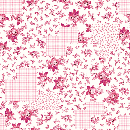 patchwork pattern: Flower patchwork pattern
