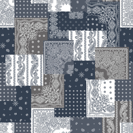 Bandana pattern design 矢量图像