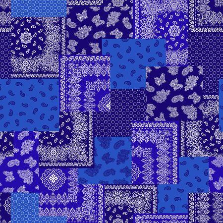 bandanna: Bandanna illustration design