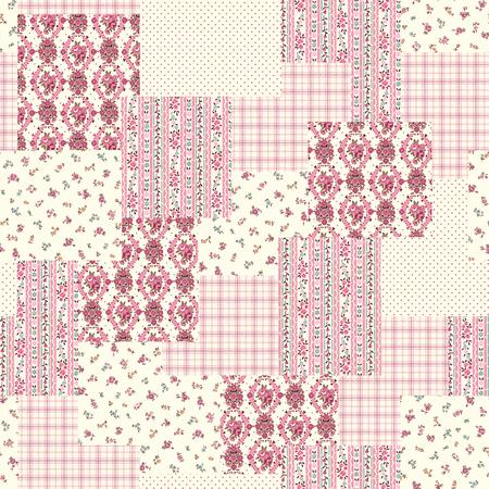 patchwork: Flower patchwork pattern