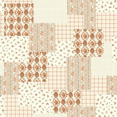 patchwork pattern: Flower patchwork pattern