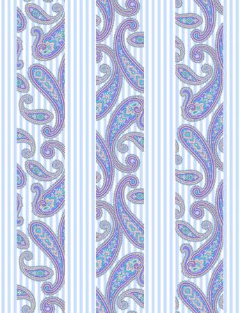 Paisley illustration pattern 向量圖像