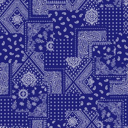 Patrón de diseño del pañuelo de