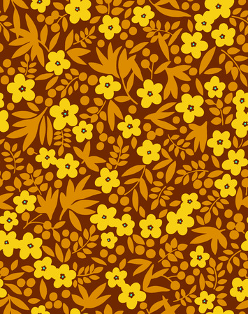 impressive: Flower illustration pattern
