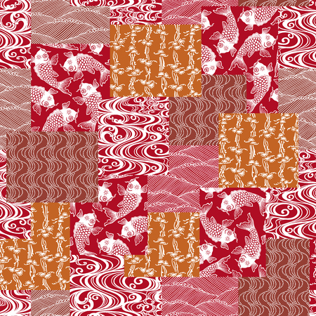 patchwork: Japanese style pattern patchwork