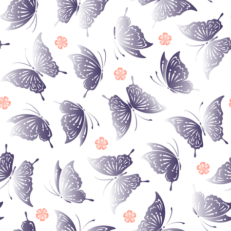 traditional pattern: Japanese butterfly pattern