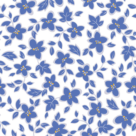 simplification: Flower illustration pattern