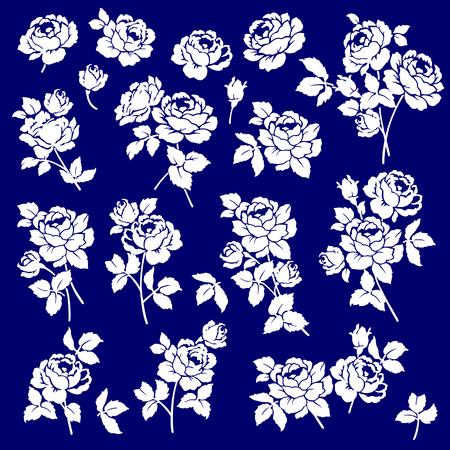 rose: Rose flower object, Illustration