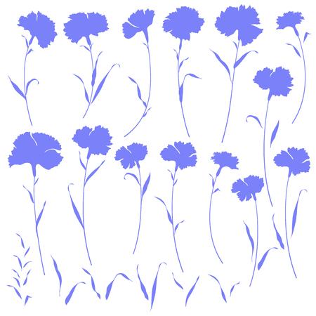simplification: Flower illustra Illustration