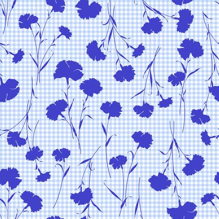 florecitas: Patr�n de la ilustraci�n de la flor