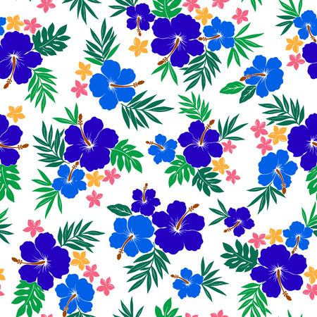 stunning: Hibiscus flower pattern