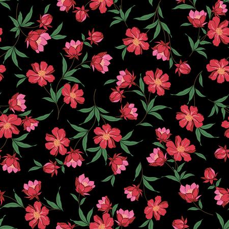 remarkable: Flower illustration pattern