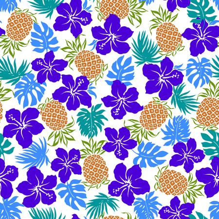 stunning: Hibiscus pineapple pattern