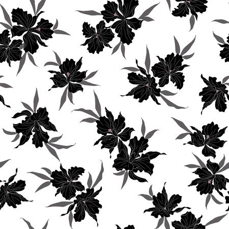 impressive: Flower illustration pattern