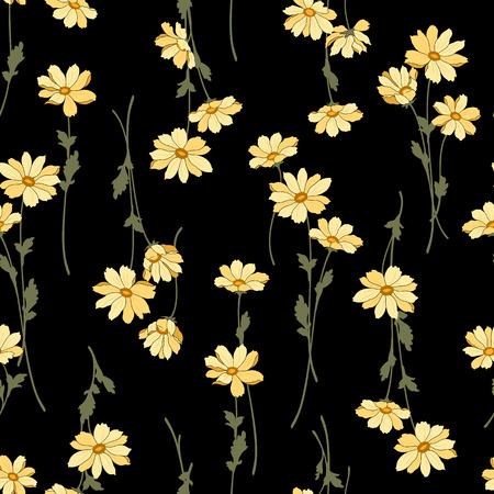 Patrón de la ilustración de la flor